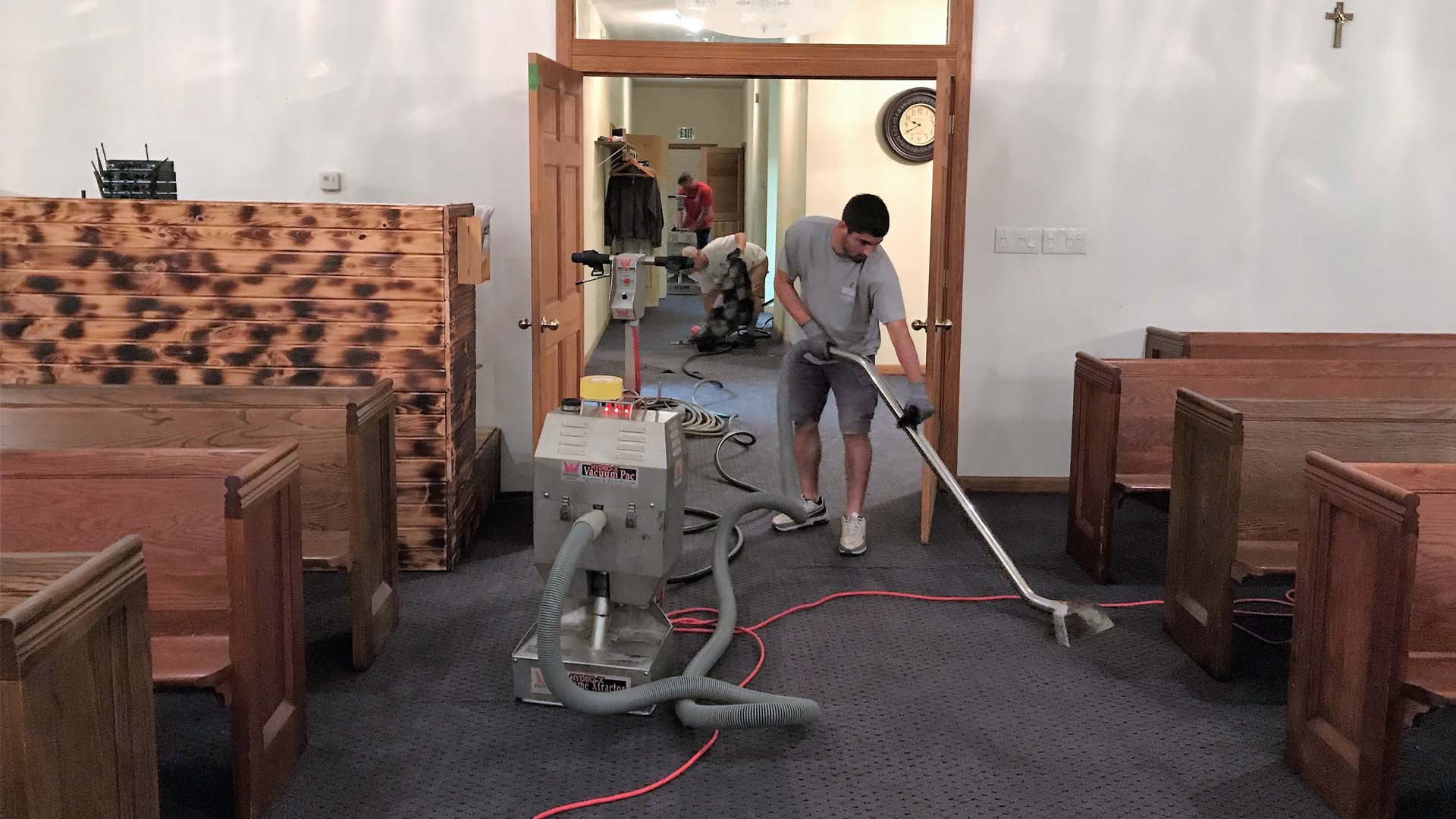 Water Damage Restoration Water Extraction
